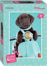 Пазлы Steppuzzle Studio Pets By Myrna. Мирна 80 элементов