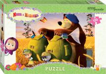 Пазлы Steppuzzle Анимаккорд. Маша и Медведь-2 120 элементов