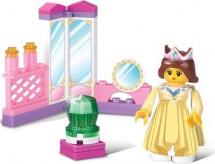 Конструктор Sluban Розовая мечта. Апартаменты королевы 29 деталей