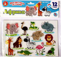Обучающая игра Десятое королевство Магнитные истории. Африка