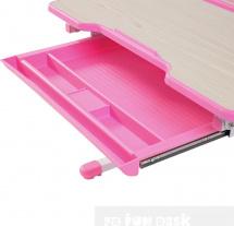 Парта-трансформер FunDesk Lavoro Pink + стул