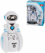 Робот-неваляшка со светом и звуком