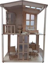 Кукольный домик Polly Фантазия с мебелью