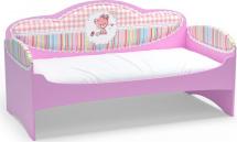 Диван-кровать Mia Standart, розовый