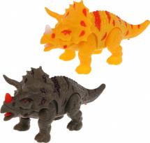Динозавр Трицератопс со световыми и звуковыми эффектами, 1 шт