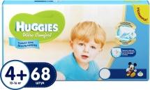 Подгузники Huggies Ultra Comfort для мальчиков 4+ (10-16 кг) 68 шт