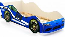 Кровать-машина Супра, синий