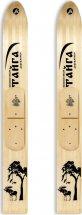 Охотничьи лыжи Маяк Тайга 125х15 см, дерево-пластик