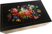 Русское лото Ладья-С в шкатулке с цветной печатью