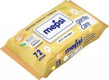 Влажные салфетки Mepsi Gentle care с экстрактом ромашки 72 шт