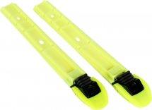 Лыжные механические крепления ELVA Clаssic (для ботинок с подошвой SNS), лимон