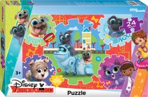 Макси-пазлы Steppuzzle Дружные мопсы 24 элемента