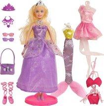 Кукла Defa Lucy Красотка с аксессуарами, фиолетовый