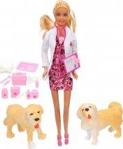 Кукла Defa Lucy Ветеринар с аксессуарами