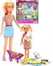 Куклы Defa Lucy Пикник 9 предметов