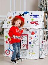 Домик-раскраска картонный Фиксики. Удивительный мир