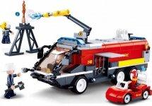 Конструктор Sluban Пожарный. Пожарная машина 381 деталь
