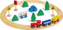 Железная дорога Mapacha деревянная
