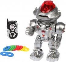 Робот Страж ИК-управление, метает диски, свет и звук
