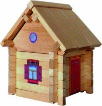 Конструктор деревянный Дом №1 37 деталей