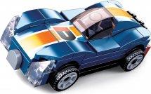 Конструктор Sluban Механо. Гоночный автомобиль инерционный 52 детали, синий