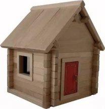 Конструктор деревянный Дом №1М 63 детали
