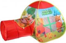 Игровая палатка Играем вместе Ми-ми-мишки с тоннелем
