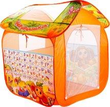 Игровая палатка Играем вместе Чебурашка с азбукой 83х80х105 см