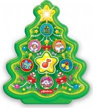 Музыкальная игрушка Азбукварик Новогодние игрушки. Елочка