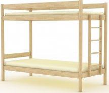 Кровать двухъярусная Березка 5.1, 190х80 воск
