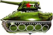 """Воздушный шарик 35""""/80 см Танк Т-34"""
