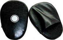 Лапы боксерские детские Leosport, пара, 20х30 см, черный
