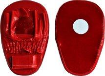 Лапы боксерские Leosport Мaster пара 21х34 см, красный