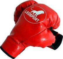 Перчатки боксерские детские  Leosport 4 унции (4oz), красный
