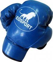 Перчатки боксерские детские Leosport 4 унции, синий
