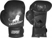 Перчатки боксерские Leosport Классика 8 унций, черный