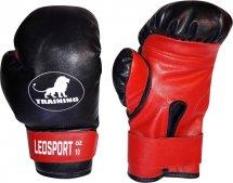 Перчатки боксерские Leosport Training 8 унций, красный