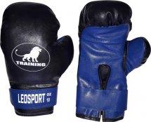 Перчатки боксерские Leosport Training 8 унций, синий