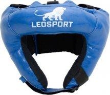 Шлем боксерский набивной Leosport детский, синий