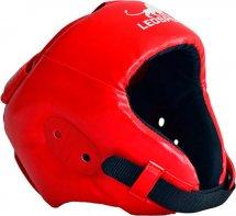 Шлем боксерский литой Leosport детский S, красный
