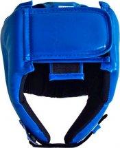 Шлем боксерский литой Leosport подростковый М, синий
