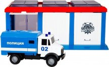 Гараж Пламенный мотор Полиция фургон