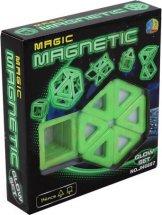 Магнитный конструктор Magic Magnetic 14 деталей, светящийся