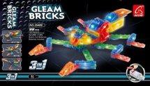 Конструктор Ausini. Gleam Bricks Насекомое 3в1 98 деталей с подсветкой