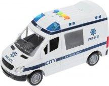 Машина Пламенный мотор Полиция световые и звуковые эффекты