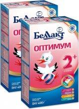 Сухая смесь Беллакт Оптимум №2 с 6 до 12 мес 400 г х 2 шт