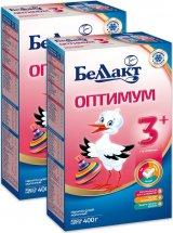 Сухая смесь Беллакт Оптимум №3 с 12 мес 400 г х 2 шт