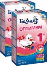 Сухая смесь Беллакт Оптимум №1 с 0 до 6 мес 400 г х 2 шт
