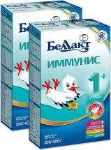 Сухая смесь Беллакт Иммунис №1 с 0 до 6 мес 400 г х 2 шт