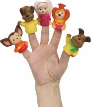 Кукольный театр пальчиковый Весна Барбоскины 5 фигурок